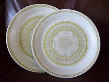 Franciscan HACIENDA GREEN  2 dinner plates earthenware USA