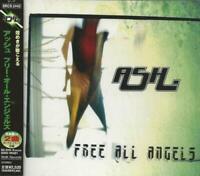 ASH - FREE ALL ANGELS 2001 JAPAN CD