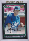 CLAYTON KERSHAW ROOKIE CARD 2008 Bowman BASEBALL RC Los Angeles Dodgers!