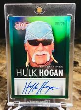 "2015 Panini/Americana ~ HULK HOGAN (#9/25) ""GREEN"" AUTO CARD!!! ""SSP"" WWE/WWF!!!"