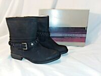 New! Skechers Womens Mad Dash-Day Trip Ankle Boots-Style 48253-Black  Size 6.5