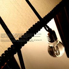 Gift Pendant LED Disco Long Leather Chain Jewelry Torch Necklace Bulb
