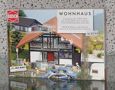 BUSCH 8246 [Spur N, Bausatz] - HUF® Haus braun/rot - NEUWARE!