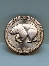 1769-1969 CALIFORNIA BICENTENNIAL COIN/MEDAL THE GOLDEN LAND ~BRONZE L@@K~