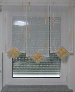 Scheibengardine,Bistrogardine ,Küchengardine,Gardine aus Voile,Vorhang