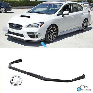 For 15-20 Subaru WRX STI V-Limited Style Front Bumper Lip Splitter Chin Spoiler