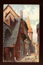 Germany Nurnberg artist Charles E Flower Tuck Oilette #661B German edition PPC