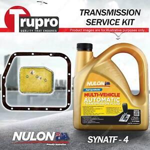 SYNATF Transmission Oil + Filter Service Kit for Mitsubishi Lancer LA LB LC RWD
