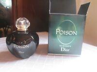 Poison EDT 3.4 fl.oz /100 ml splash Christine Dior  Full w/box