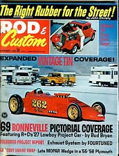 Rod & Custom Magazine November 1969 Volksrod Report EX 041317nonjhe