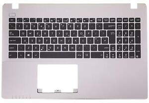 Palmrest Cover Grey UK Keyboard For Asus X550CA X550CC X550VA 90NB00T7-R31WB0