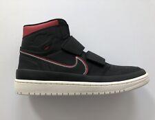 fc5f47229615 Nike Air Jordan 1 Retro High Double Strap Black Gym Red Sail AQ7924-016 Size
