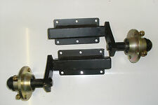 "TRAILER SUSPENSION UNITS 350KG EXTENDED STUB AXLE COMPLETE 4 STUD, 4"" PCD HUBS"
