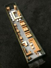 Gold Rush Bay COLOR HO Scale Train 50' Pullman Business Car Dining Interior