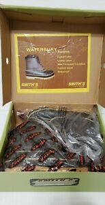 Mens Smith's WATERBURY Waterproof Boots Size 8 Brown / Green
