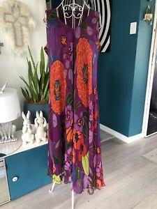 Maggie T Silk Dress. Size 16