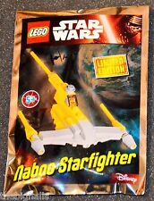 LEGO STAR WARS Limited Edition Naboo Starfighter new sealed