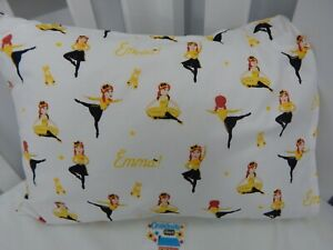 Emma Wiggle Pillowcase Child Toddler Size 100% Cotton