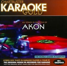 NEW Karaoke Gold: Songs in the Style of Akon (Audio CD)