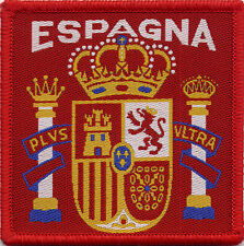 Espagne Spain Retro 80's / 90's Football Badge Patch 7.1cm x 7.1cm Square