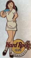 Hard Rock Cafe SHANGHAI 2003 GIRL of ROCK Series PIN GOR #1 White Uniform #16606