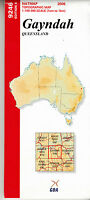 Gayndah (QLD)  9246  1:100,000 NATMAP  topographic map brand new