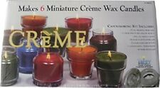 Yaley Creme Candle Making Kit - Makes 6 Minature Creme Wax Candles