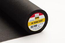 Vlieseline Bügeleinlage H 250 schwarz Freudenberg Einlage mtr. € 4,90