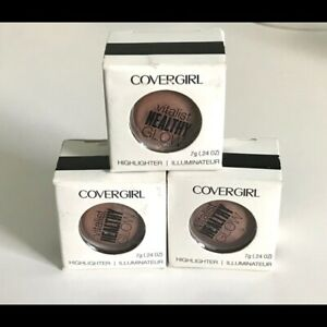 3 Pack Covergirl Vitalist Healthy Glow HIGHLIGHTER Candlelit #3