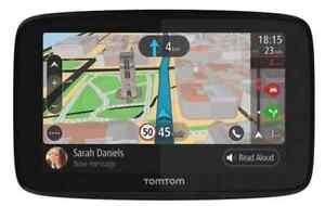 "TOMTOM Go 520 5"" Bluetooth GPS WiFi lifetime maps speed cam handsfree calling"