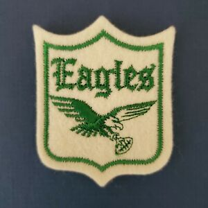 "VINTAGE - PHILADELPHIA EAGLES ""TEAM PATCH""  1960s   LOOK!!"