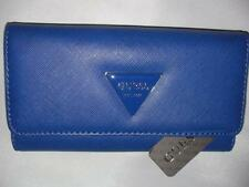 NEW GUESS LADIES WALLET ABREE SLG COBALT COLOR