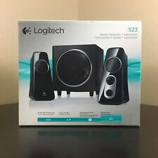 Logitech Z523 40W 2.1 Speaker System w/Subwoofer for Game Console New Sealed