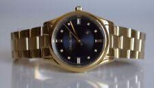 Gelbe analoge Armbanduhren im Luxus-Stil