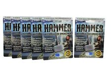 6pk The Hammer Men's Powerful Sexual Health Performance Enhancing Supplement