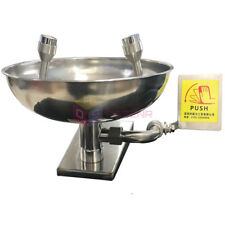 Safety Equipment Stainless Steel Emergency Eye Wash Station Eye Wash Bowl Washer