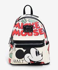 Brand New Disney X Loungefly Mickey Mouse Illustration Mini Backpack