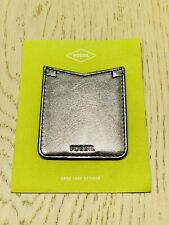 Special Offer! Fossil Phone Case Pocket Sticker Pewter