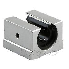 1x 16mm SBR16UU CNC Aluminum Bearing Open Linear Router Motion Rail Shaft Block