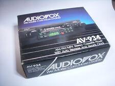 Autoradio carradio  AUDIOVOX   AM / FM / MPX (!)  Youngtimer NOS