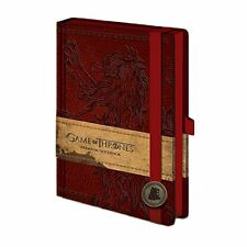 Official Game of Thrones Lannister Premium A5 Hardback Notebook Journal