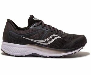 Saucony Omni Iso White Low Lace Up Mens Running Trainers S20442 40