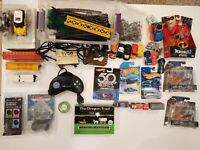 Lot of Over 50 Toys Hot Wheels Tyco Train Jurassic Park Incredibles New & Used