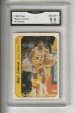 Magic Johnson,  1986 Fleer Sticker (Llakers) NM=MT+ *.5
