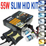 55W Xenon Headlight HID Conversion KIT Bulbs H1/H3/H4/H7/H11/9005/9006/880/881