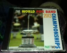 the world pipe band championships 2013 part 2 cds BRAND NEW AND SEALED