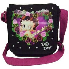 Betty Boop Black Mini Compact Shoulder Hand Bag Handbag Girls Ladies