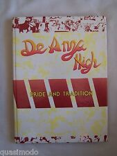 1989 DE ANZA HIGH SCHOOL YEARBOOK RICHMOND, CALIFORNIA  EL CONQUISTADOR