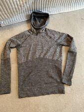 Nike Large Grey Marl Running Hoody Rrp £75