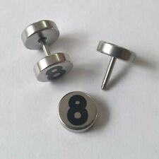 2pcs Fake Ear Plug Screw Cheater Flesh Tunnel lot designs and colours Men Women